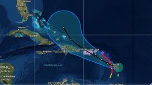 hurricane maria heads toward puerto rico as a major storm the