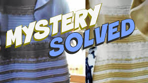 optical illusion dress what color is this dress mystery solved optical illusion science