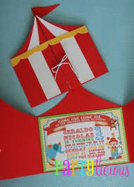 circus invitations birthday party cimvitation