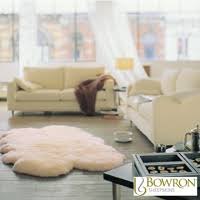 windward 100 sheepskin quad rug in ivory 180 x 110cm costco uk