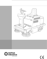 nilfisk advance america sr 5120 p b vacuum cleaner manual