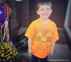 Boys Halloween T Shirts by Frightfully Easy Diy Halloween T Shirts Designer Daddy