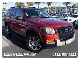ford explorer package sold 2007 ford explorer xlt ironman package black roof rack w