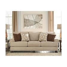 signature design by ashley camden sofa signature design by ashley quarry hill traditional quartz beige