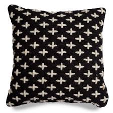 Black Sofa Pillows by Mima Wool Pillow Black Throw Pillows Blu Dot