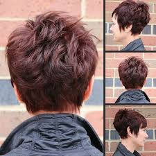spiky peicy hair cuts women s piece y tousled quiff