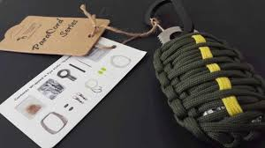 survival paracord bracelet kit images Paracord survival kit aka the survival grenade full review jpg