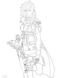 final fantasy xiii lightning by sorarox10 on deviantart