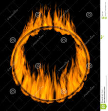 rings with fire images Fire ring stock illustration illustration of orange abstraction jpg