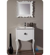 24 White Bathroom Vanity by 24