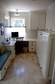 ergonomic laundry room home office organized and elegant galley