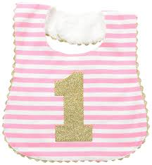 1st birthday bib mud pie baby birthday bib clothing