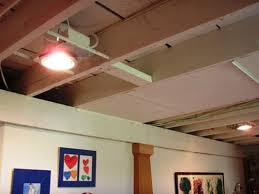 Lights For Drop Ceiling Basement by 12 Best Basement Images On Pinterest Basement Ceiling Options