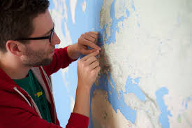 Self Adhesive Old World Map Printing A Wall Sized World Map