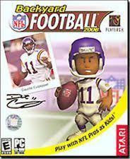 Backyard Football 2002 Football Pc Video Games Ebay