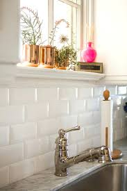 ceramic subway tiles for kitchen backsplash kitchen stick on white