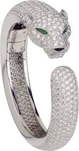 cartier bracelet diamond images Panth re de cartier bracelets png