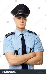 portrait young policemen uniform stock photo 203456716 shutterstock