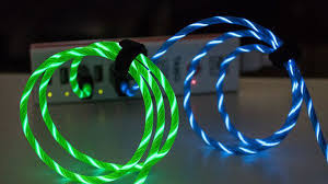 light up collar amazon put a funky spin on your charging experience with this light up cable