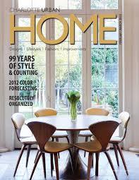 feb march 2012 issue charlotte nc by home design u0026 decor