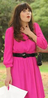 zooey deschanel new girl fashion wwzdw what would zooey deschanel s hot pink dress on new girl wwzdw what would
