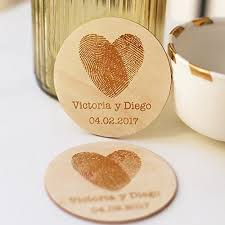 wedding favor coasters personalized coasters rustic wedding favors wedding