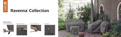 Classic Accessories Patio Furniture Covers - amazon com classic accessories ravenna deep seated patio