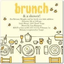 brunch invitation ideas baby shower brunch invitations orionjurinform