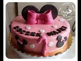 tort na roczek dziewczynki myszka minnie minnie mouse theme 1st