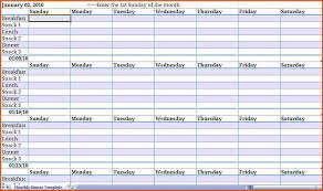 monthly menu calendar template 28 templates search results for