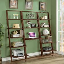 diy decoupage bookcase in the garage how to update a boring