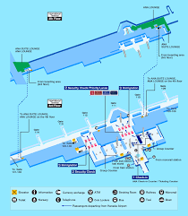 Las Vegas Terminal Map by Airport Guide International At The Airport In Flight