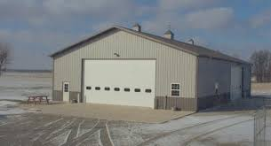 Miller Overhead Door Farm Machinery Shop Comer Buildings