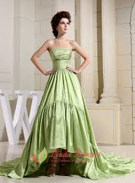 light green dress with sleeves light olive green high low prom dresses prom dresses with trains