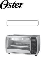 Oster Toaster Oven Manual Oster Oven Tssttvdgsm User Guide Manualsonline Com