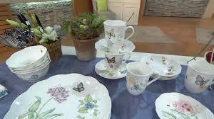 lenox butterfly meadow 24 pc porcelain dinnerware set page 1