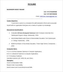 a resume format for a formats of a resume novasatfm tk