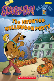 scooby doo thanksgiving the haunted halloween party by gail herman scholastic