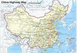 Map Of Montana Highways by China Highway Maps Travelchinaguide Com