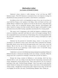 motivation letter motivation letter