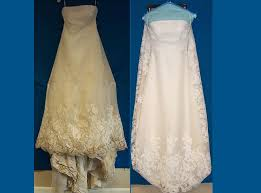 wedding dress restoration before and after enough said http gellibrands simple the