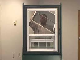 atrium sliding glass doors screen removal instructions for atrium windows youtube