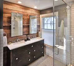 Rustic Tile Bathroom - university heights rustic bathroom other by vault
