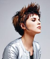 how to get a lifted crown hairdo short hair lifted up to sharp spikes on the crown