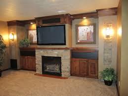 Living Room Design Tv Fireplace Prairie Heritage Design Great Room Tv Fireplace Built Ins