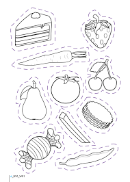list healthy food coloring page kids coloring pages awesome