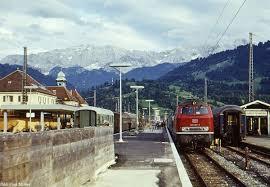 B Otisch Bahnhof Und Bw Garmisch 1971 98 33 B Kbs 970 Forum