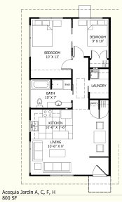 Rectangular House Plans by Modest House Plans