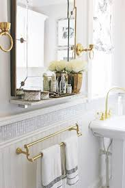 bathroom cabinets white marble bathrooms brass vintage style