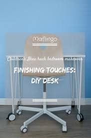 Diy Childrens Desk by Children U0027s Ikea Hack Bedroom Finishing Touches Diy Desk